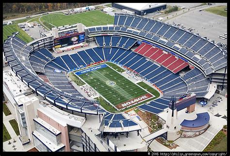 views 1 patriotic news views photograph by philip greenspun gillette stadium 1