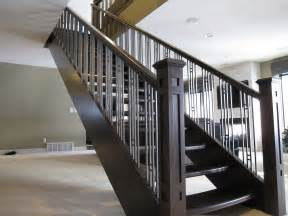 modern banister styles stair adorable modern stair railings to inspire your own