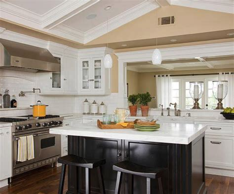 Black And White Kitchen Colour Schemes by 21