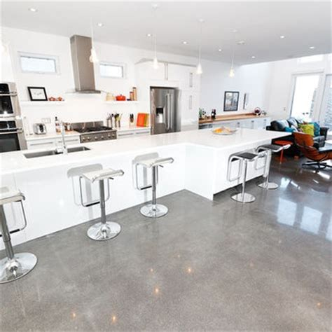 Polished Concrete Floor Kitchen white polished concrete bar house
