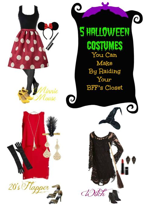 Bff Closet by 5 Costumes From Your Closet