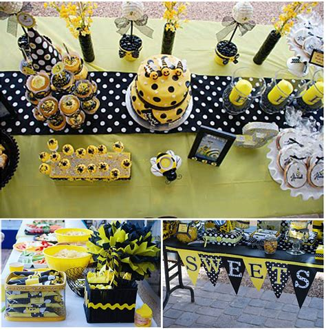 Bee Decorations happy bee birthday thoughtfully simple