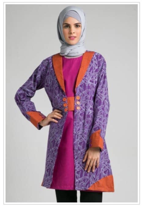 Batik Grenita Atasan Busana Muslim trend baju muslim atasan batik modis untuk remaja masa kini