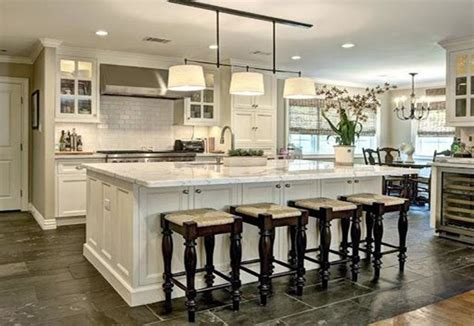 open floor plans with large kitchens easy ways of renovating the kitchen