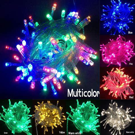 2015 free shipping holiday outdoor rgb led string lights