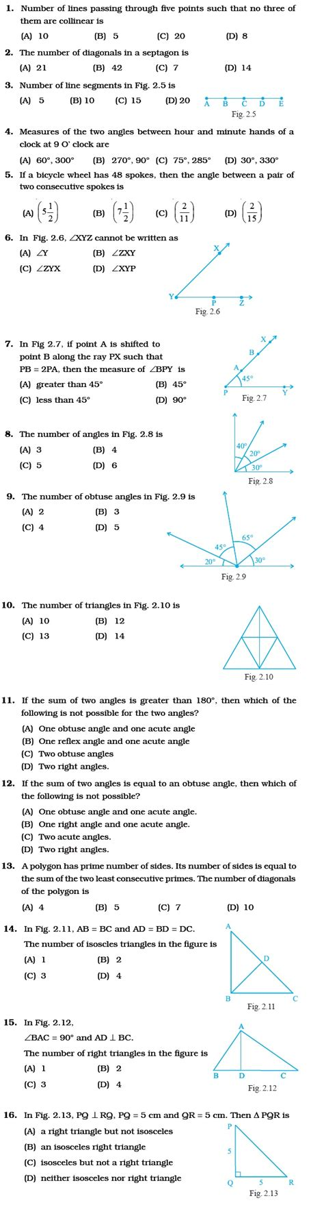 questions quiz pdf geometry multiple choice questions with answers pdf