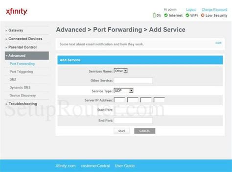 forwarding in router arris tg862 forwarding guide