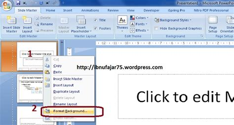 format membuat power point powerpoint 2 cara membuat template dan slide master