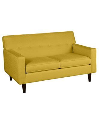 macy s clare sofa clare fabric loveseat 60w x 37d x 37h couches sofas