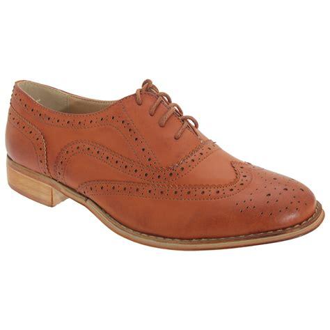 boulevard womens lace brogue shoes