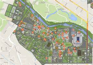 Boise State Map by Boise State Rolls Out New Online Campus Map Tours Update