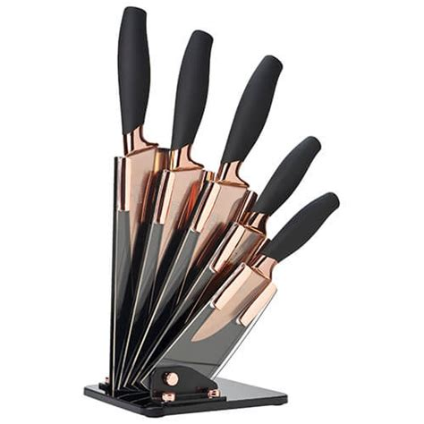 Taylors Eye Witness Brooklyn Rose Gold 5 Piece Fan Shaped