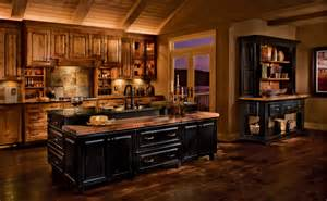 rustic birch kitchen cabinets rustic birch kitchen in praline and cherry in vintage onyx