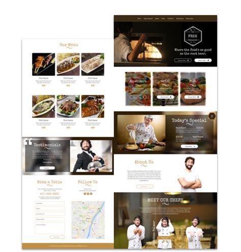 Restaurant Website Template Cakewp Indian Restaurant Website Templates