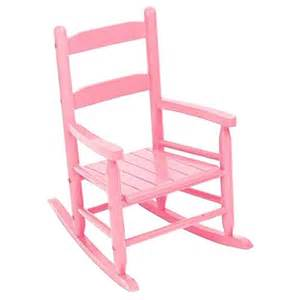 kidkraft furniture pink wooden 2 slat rocking chair