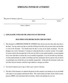 power of attorney uk template 11 power of attorney templates free sle exle
