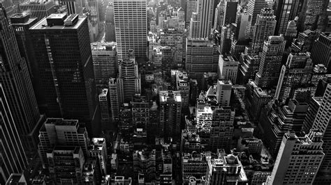 cityscape wallpaper in black and white by lutece black and white cityscape wallpaper wallpapersafari