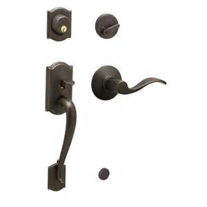 Front Door Handle Lock Set Schlage Camelot Accent Traditional Residential Single Lock Keyed Front Door Handleset Lowe S
