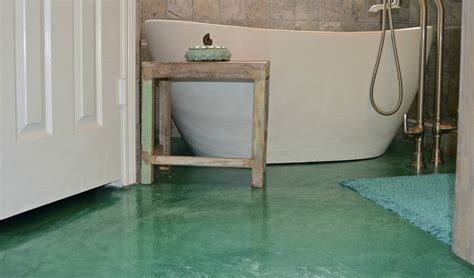 stained concrete bathroom floor stained concrete basement floor concrete craft