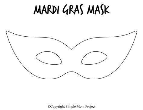 printable diy mask templates  mardi gras