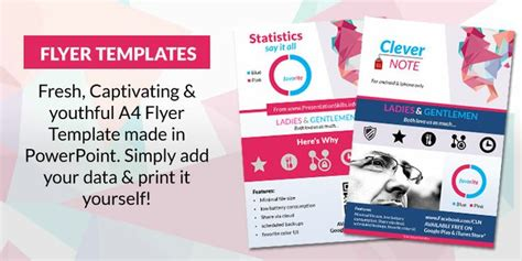 powerpoint template flyer powerpoint flyer templates