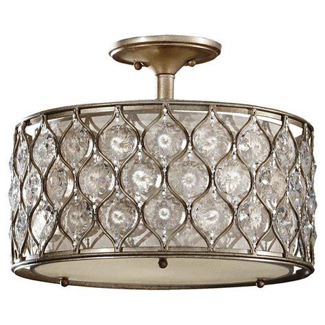 flush mount drum chandelier 3 light semi flush fjfl carol s lighting
