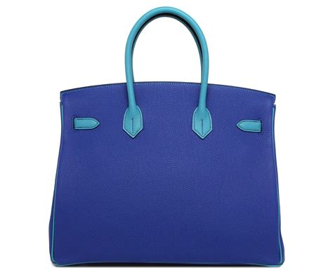 05 Hermes Birkin Studed hermes birkin blue electric turquoise togo palladium