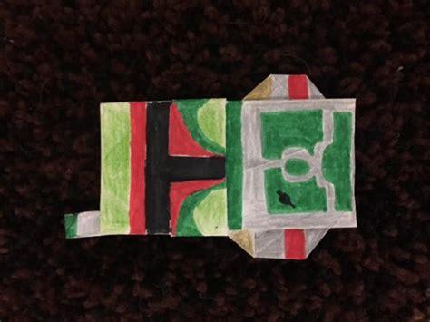 Origami Boba Fett - boba fett origami yoda