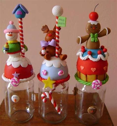imagenes adorns navidad en miniatura potes de natal em biscuit 20 fotos artesanato passo a passo