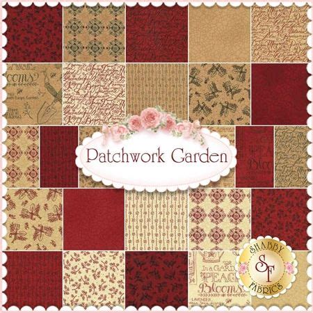 Moda Patchwork Fabric - patchwork garden by kathy schmitz for moda fabrics