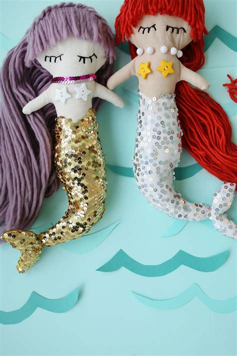 Handmade Dolls Patterns - best 25 mermaid dolls ideas on sewing dolls