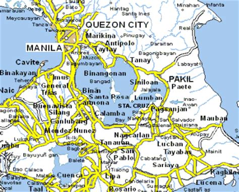 san jose binan laguna map rizal the rider