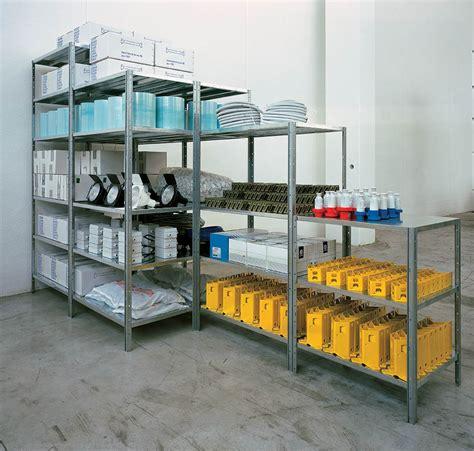 scaffali in metallo scaffale modulare firenze teknoscaf
