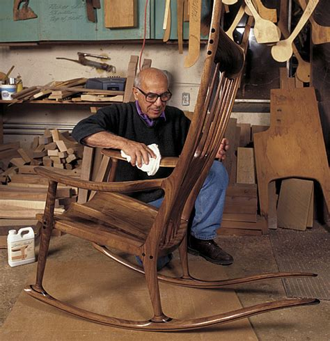 couch makers the rocking chair of sam maloof furniture with spirit