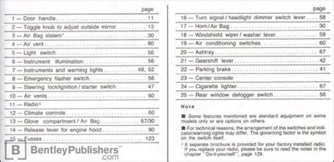 service manuals schematics 1995 volkswagen golf navigation system excerpt vw volkswagen owner s manual golf 1995 bentley publishers repair manuals and