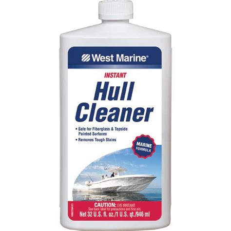 boat supplies hull west marine hull cleaner quart west marine