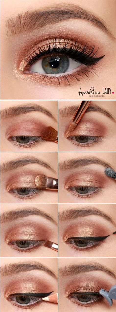 7 Gorgeous Ways To Wear Eye Shadow by 7 Exquisite Ways You Could Wear Copper Eyeshadow To Make A