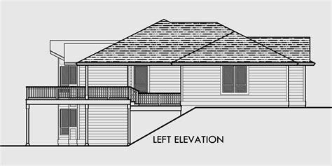 House Plans With Daylight Basements Sprawling Ranch Daylight Basement Great Room Rec Room