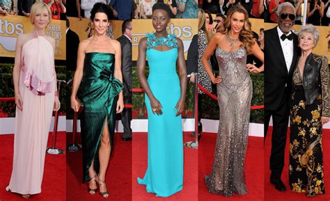Screen Actors Guild Awards Best Dressed Carpet Fashion Awards by Screen Actors Guild Awards 2014 Carpet Photos Who