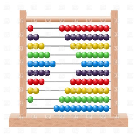 how to use an abacus with 10 school wooden abacus with rainbow colored 8274