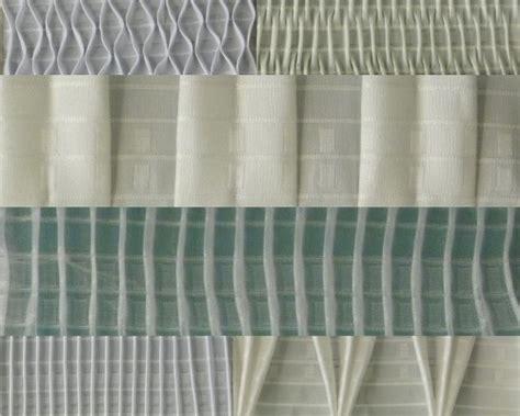tipi di arricciatura tende pin le tende a fili on