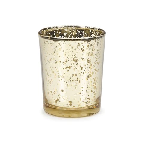 Glass Votives Gold Plated Glass Votives Wedding Decor Jo