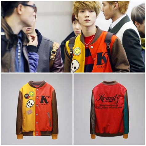 Jaket Ariel Baseball 3 junior shop open p o jaket baseball luhan until 21 january 2012