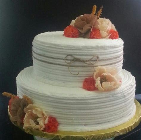 Rustic Bridal Shower Cakes by Fall Or Quot Rustic Quot Bridal Shower Cake Baby And Bridal
