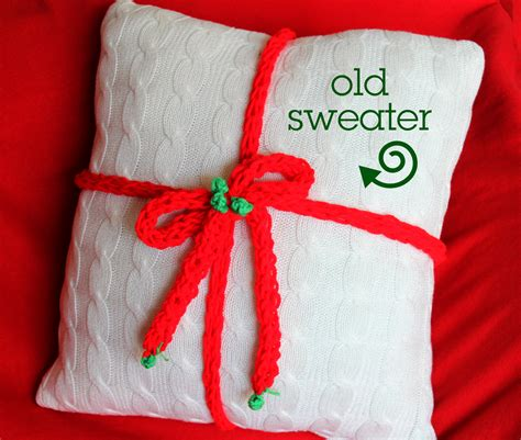 How To Make A Pillow From A Sweater by The Creative Imperative Make A Pillow From An