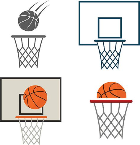 basketball clipart vector basketball hoop clip vector images illustrations