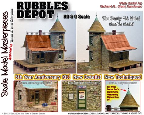 home depot 401 k plan 5th anniversary rubbles depot kit yorke scale model