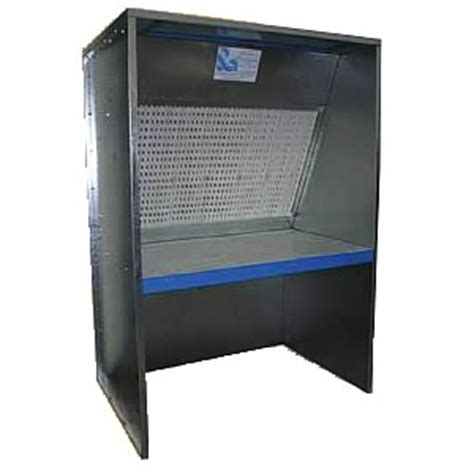 bench spray booth dry filter bench level spray booth 1500mm from spraydirect co uk