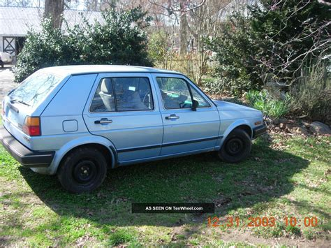 1986 Volkswagen Golf by 1986 Volkswagen Golf Base Hatchback 4 Door 1 6l Diesel