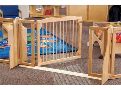 Free Room Dividers - kydz suite wooden preschool safety gate kyd 1550 preschool room dividers